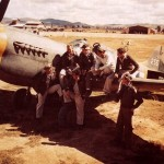 P-40 #255 and Pilots Of The 26th Fighter Squadron 51st Fighter Group 1943