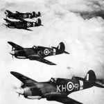 P-40 Tomahawks of No. 403 Squadron RCAF Based at Baginton 1941