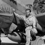 Robert McHale and P-40 of the 49th Fighter Group 8th FS New Guinea 1943