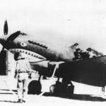 Shark Face P-40 of AVG Flying Tigers at Base in Rangoon 1942