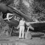 Lt D W Maxwell and P-40K 42-46261 25th FS 51st FG