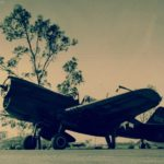 P-40N after being unloaded from USS Copahee at Townsville September 1943