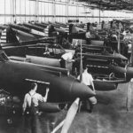 P-40 on assembly line 1940