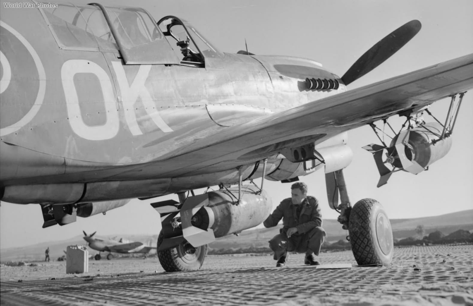 """Kittybomber"" of No. 450 Squadron RAAF Italy"