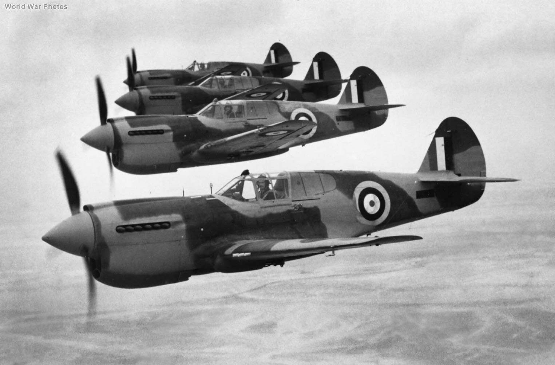Kittyhawk I AK681 of 94 Squadron RAF