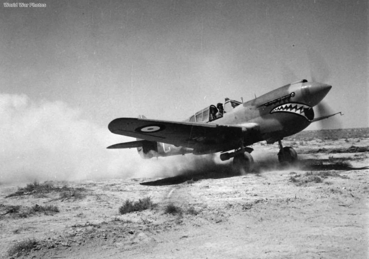Curtiss Kittyhawk Mk I AL219 GA-C of No. 112 Squadron RAF, Western Desert