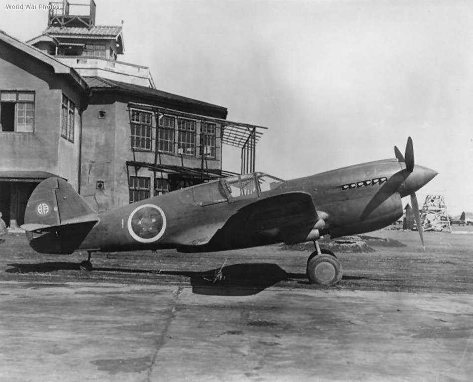 ex-Japan Curtiss P-40E Akeno, Yokota 1945