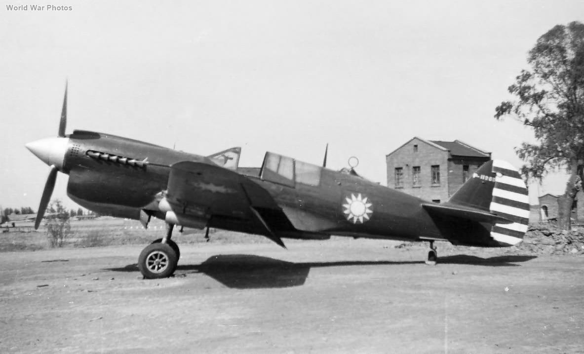 Chinese Curtiss P-40N Warhawk