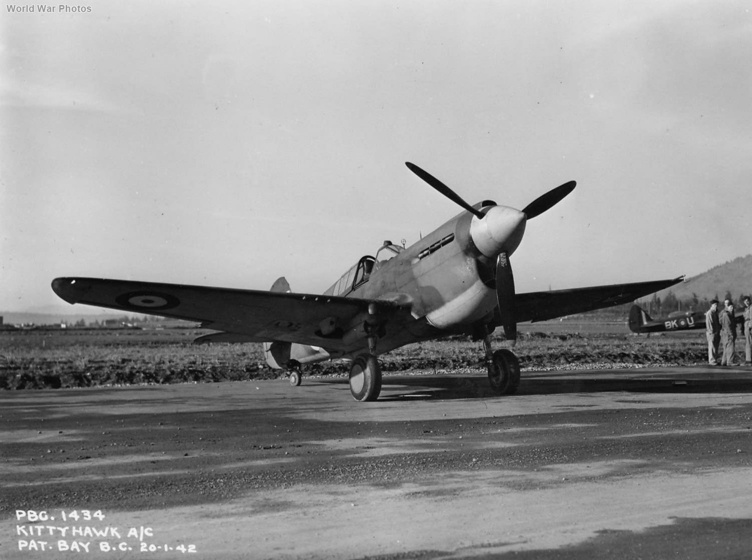 P-40 of 111 Squadron RCAF 1942