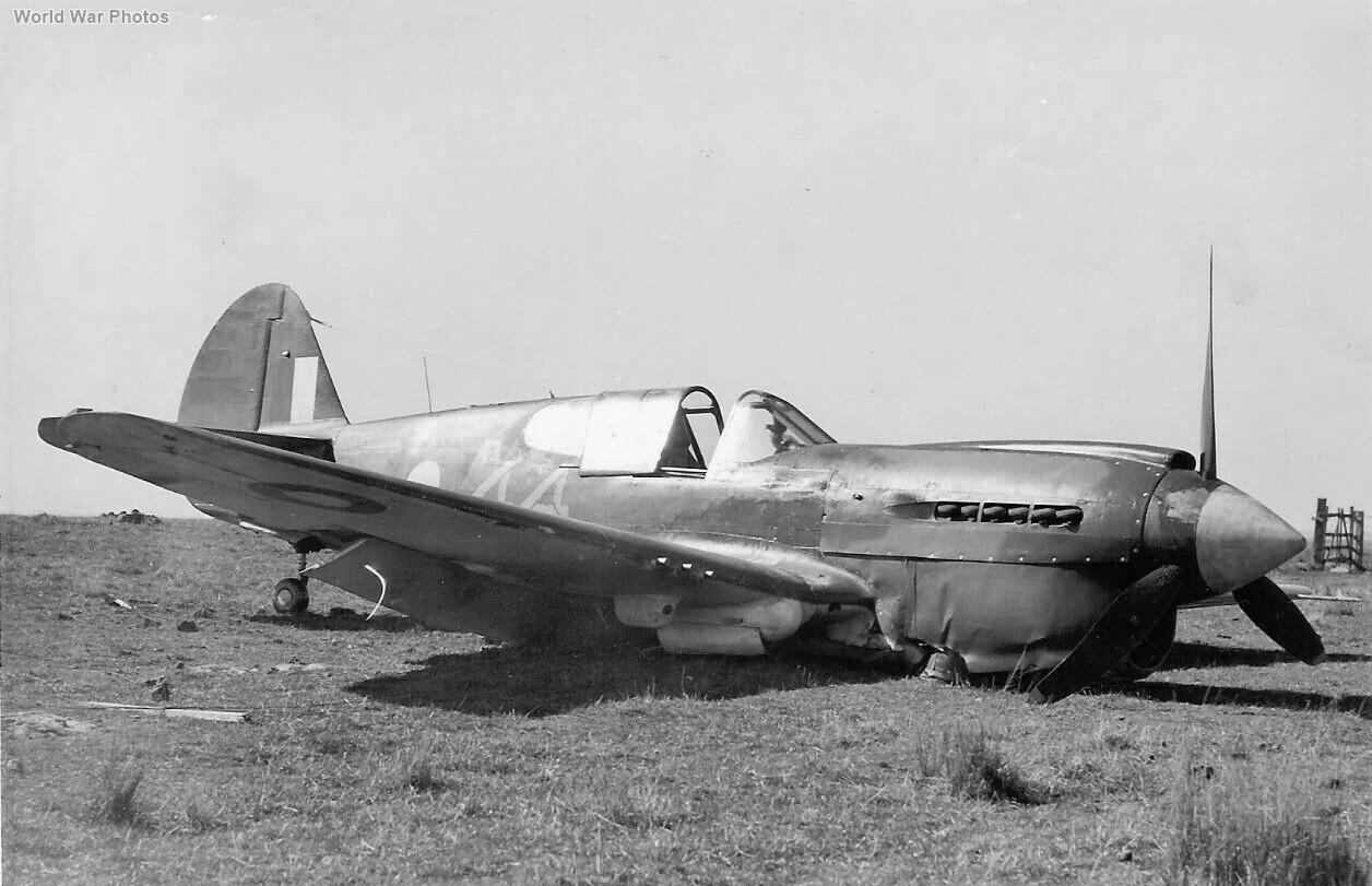 Crashed P-40E A29-144 RAAF 2