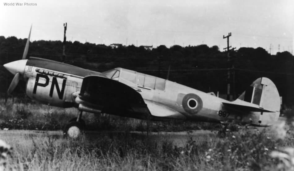 RCAF P-40N 867
