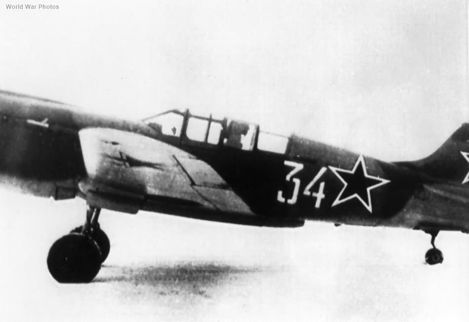 "Soviet P-40K ""White 34"""