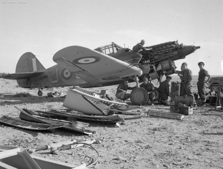 Tomahawk Mk IIB AK475 GA-J of No. 112 Squadron RAF