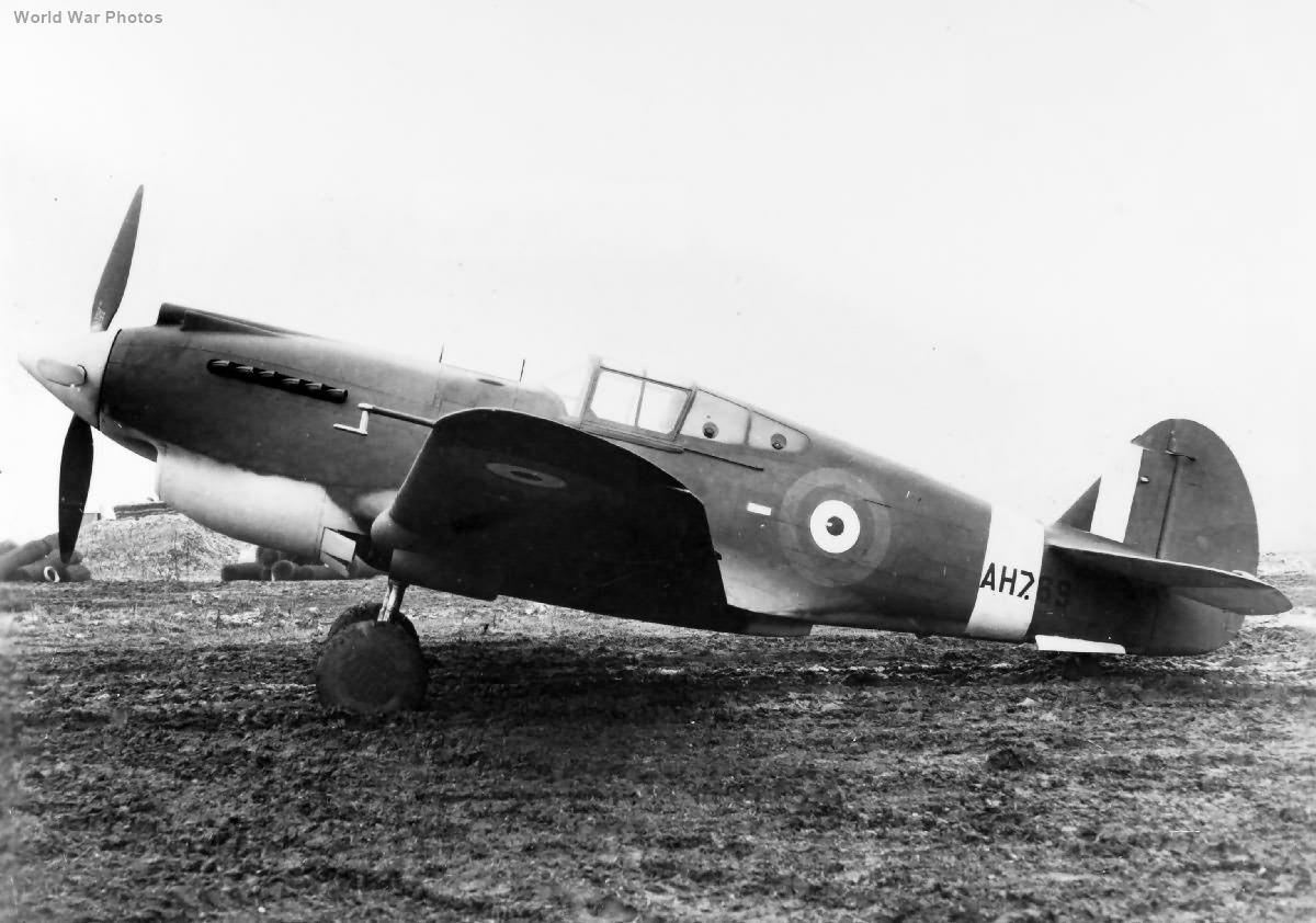 Curtiss Tomahawk Mk I AH769 at Boscombe Down 2