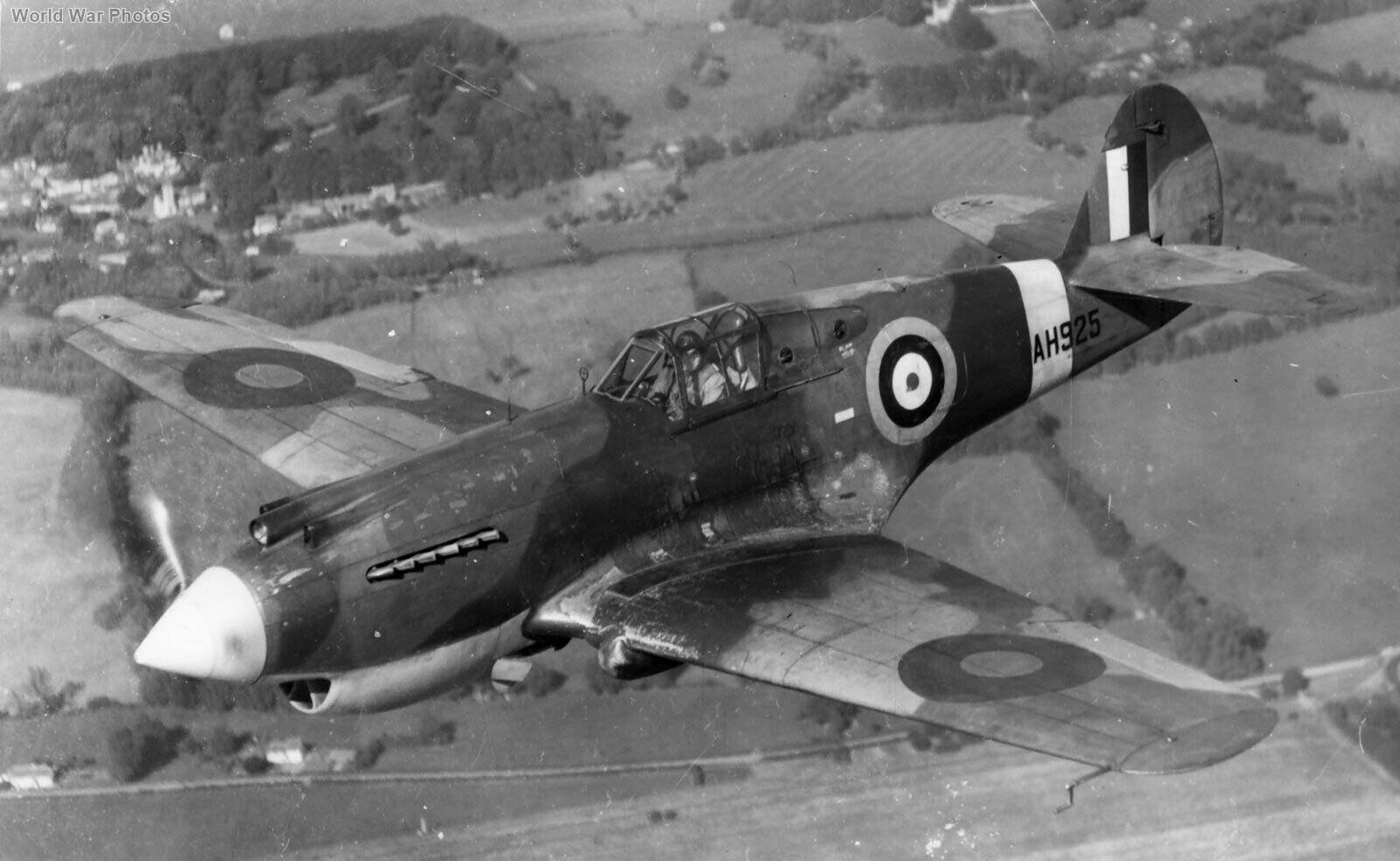 Curtiss Tomahawk Mk IIA AH925 in flight, England