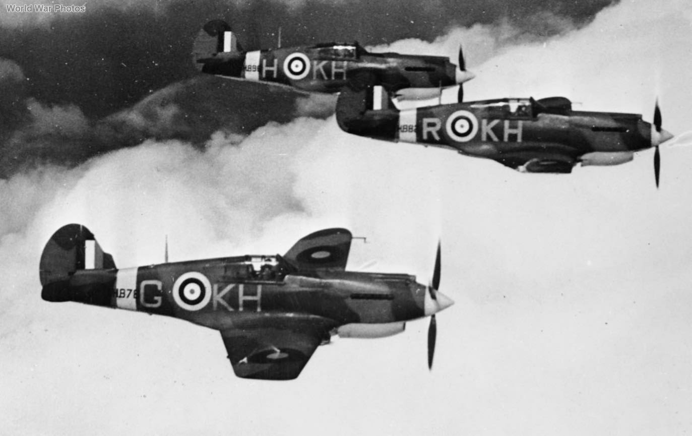 Tomahawks of 403 Squadron RCAF