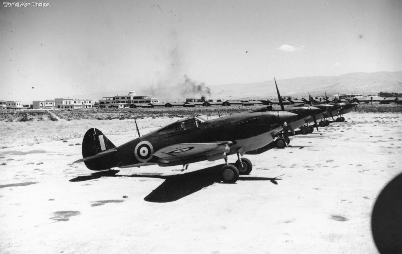 Tomahawks Mk IIB of 3 Squadron RAAF Rayak Lebanon