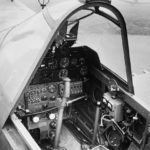 Kittyhawk I AK753 cockpit interior