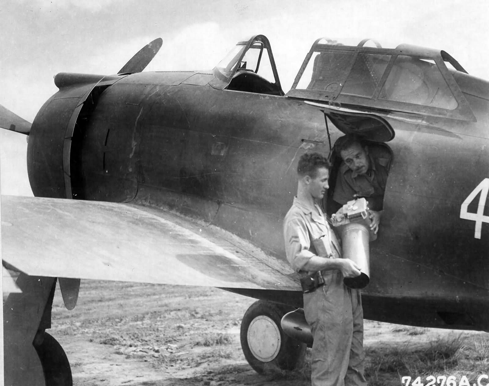 P-43A loaned from the CNAF, 76th FS 23rd Fighter Group – 15 September 1942