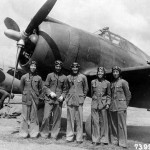 Chinese pilots pose beside a Republic P-43 September 1942