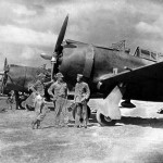 Republic P-43 at an airfield somewhere in China 17 September 1942