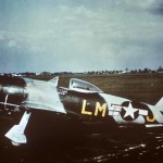 P-47 Thunderbolt code LM-J, serial 44-21117 named 56th Fighter Group