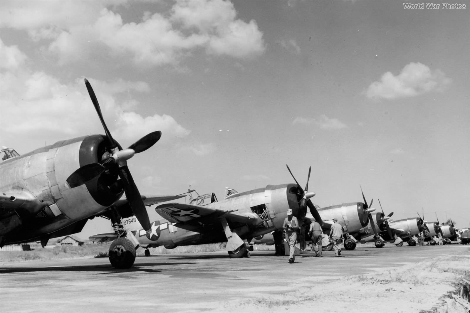 1st Air Commando P-47s Asansol nov44