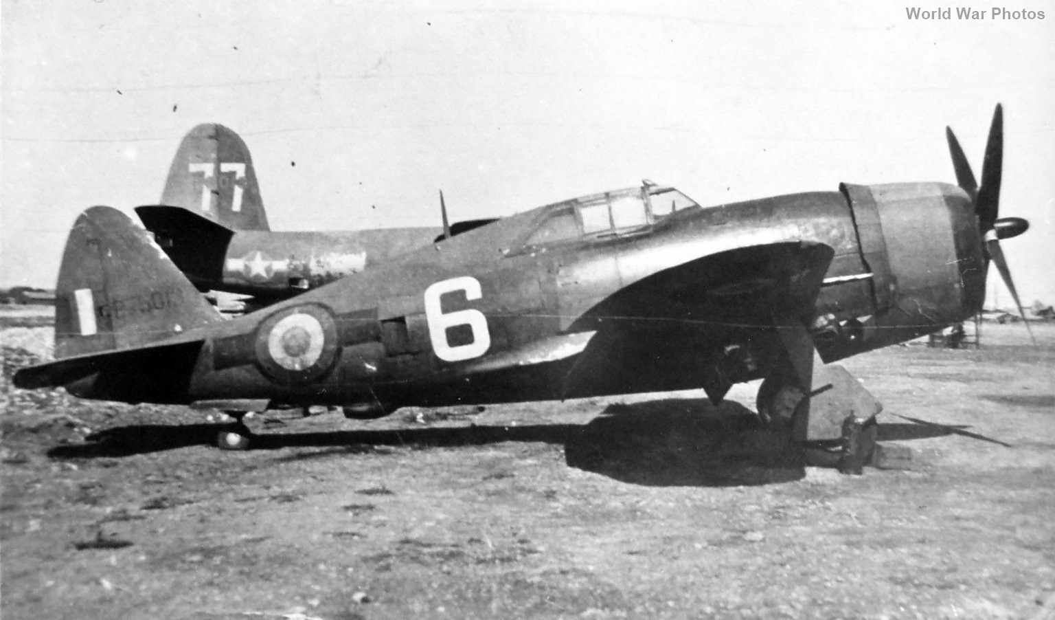 French P-47D 42-75013 B-26
