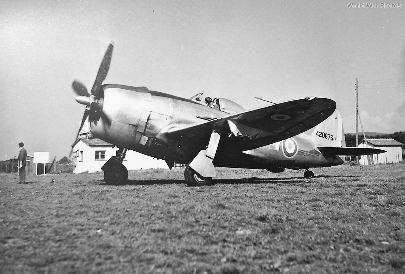 French P-47D 44-20676