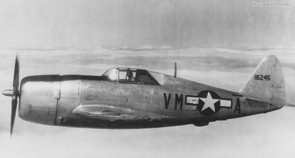 P-47C 41-6245 551st Fighter Training