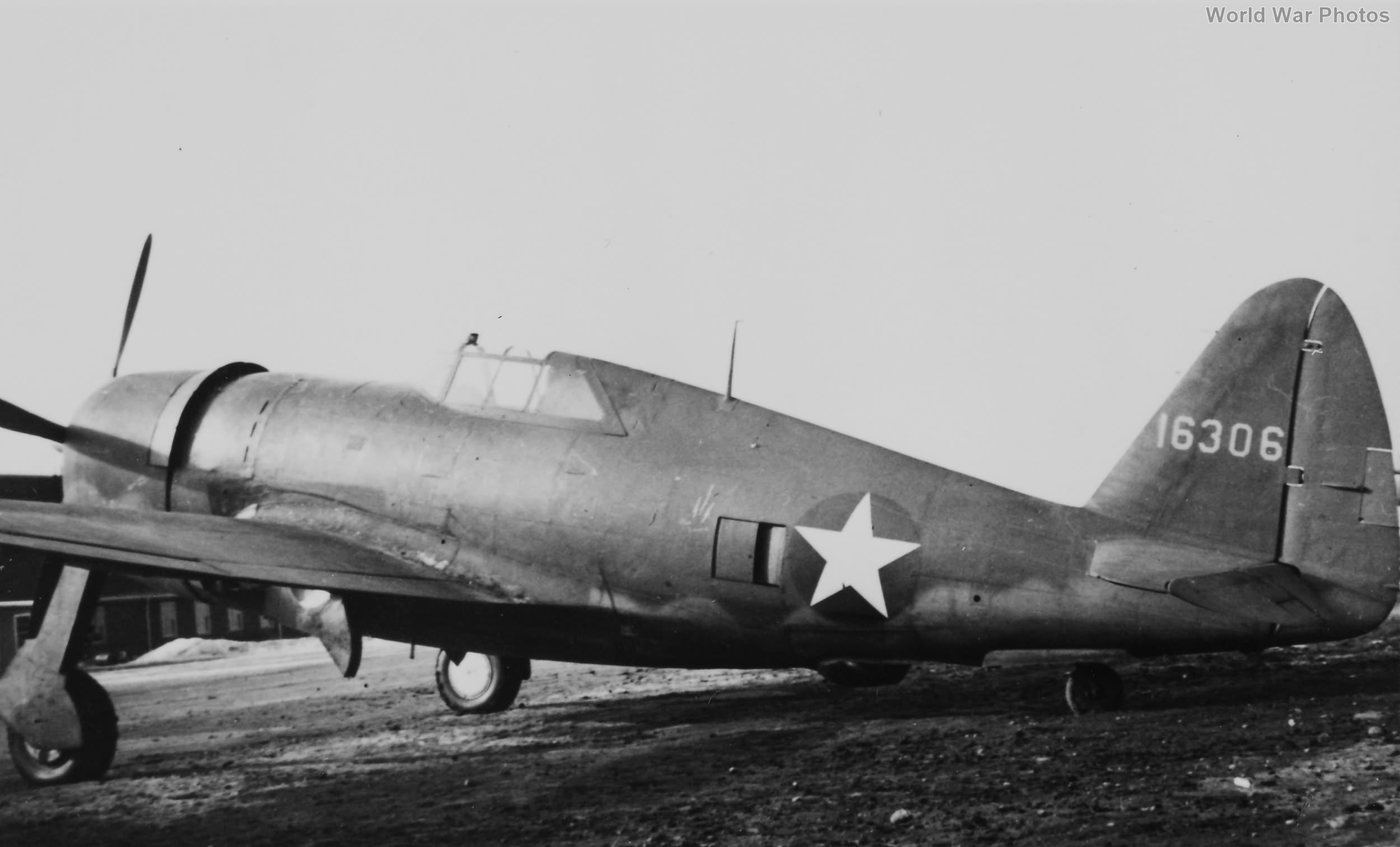 P-47C serial 41-6306