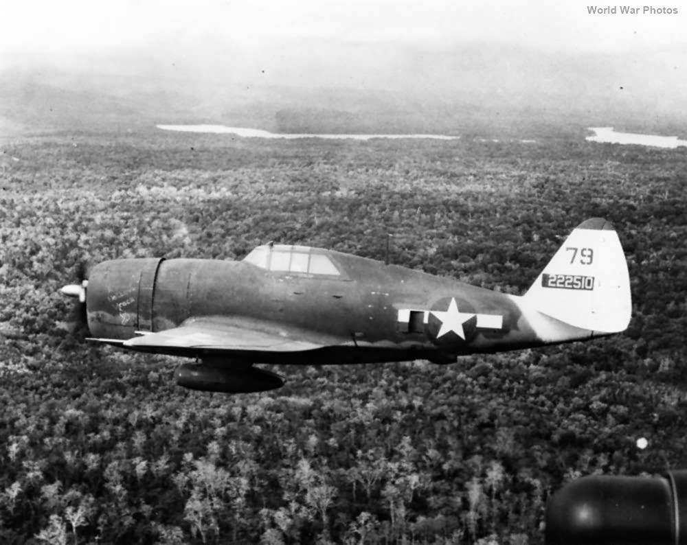 P-47D 42-22510 A Helluva Wreck 342FS 348FG