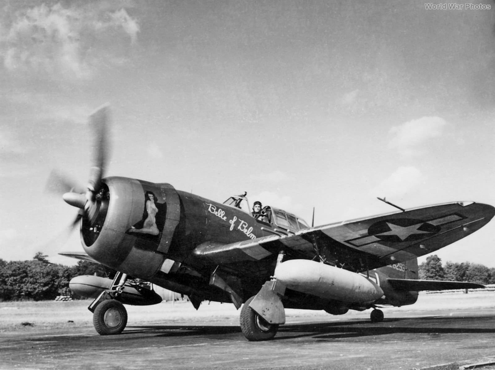 P-47D 42-26293 Belle 56th FG