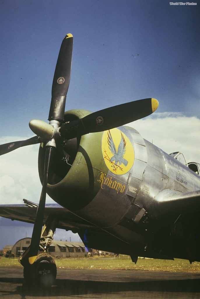 P-47D 42-26637 Kokomo Kepner
