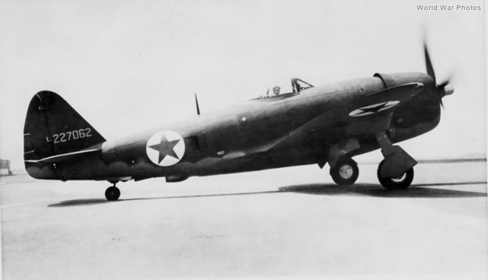 P-47D 42-27062 Russian AF