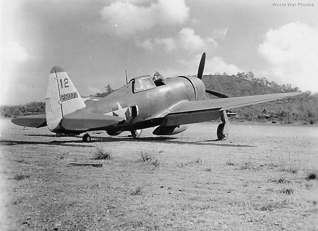 P-47D 42-8077 348th FG 340th FS New Guinea 1943