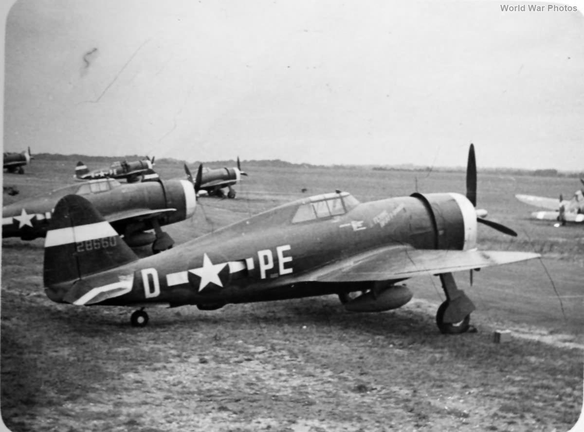 P-47D 42-8660 The Flying Draft Dodger