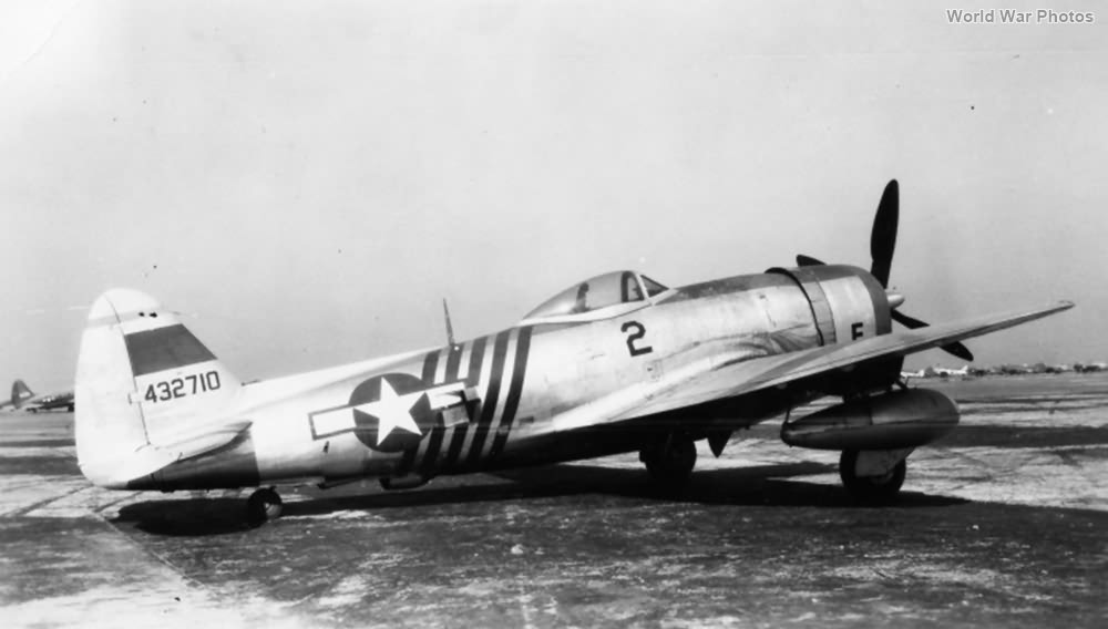 P-47D 44-32710 1st Air Commando Group China