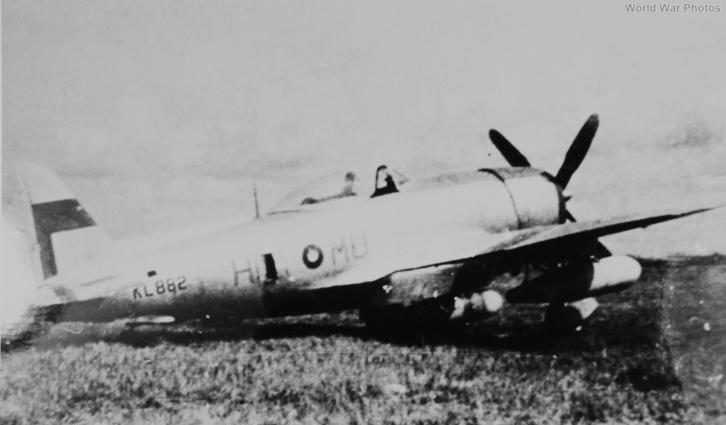 P-47D KL882 60 Squadron