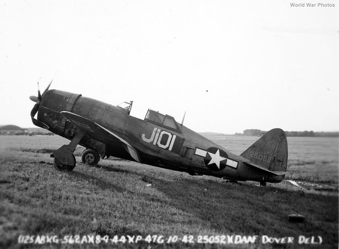 P-47G-10CU 42-25052 J101