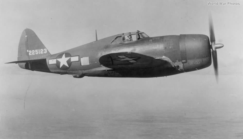 P-47G 42-25123