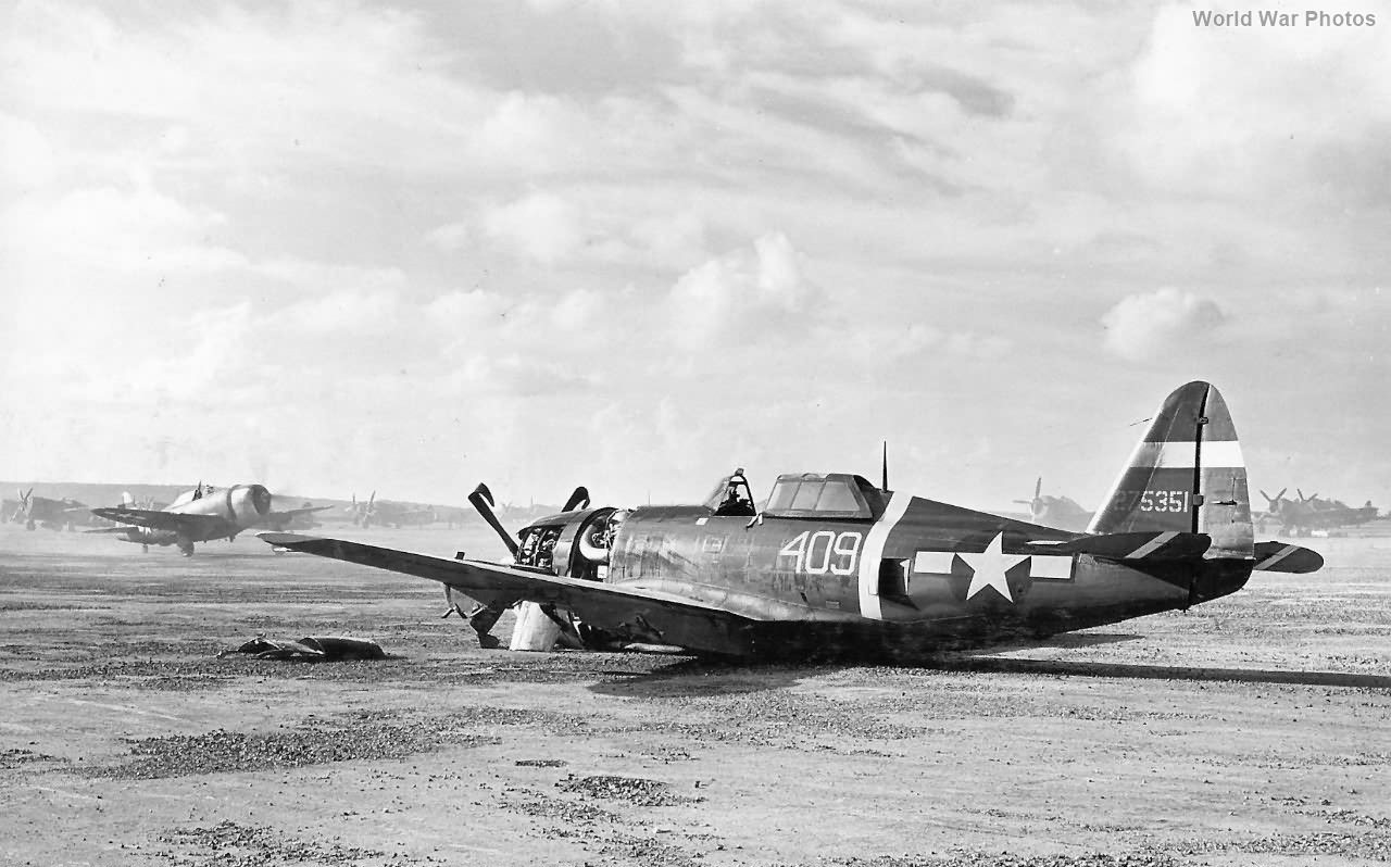 P-47 318th FG Saipan
