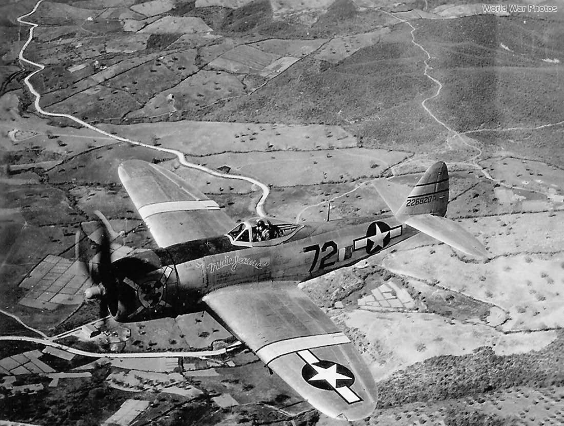 P-47 42-26820 Trudie Jeanne 57th FG