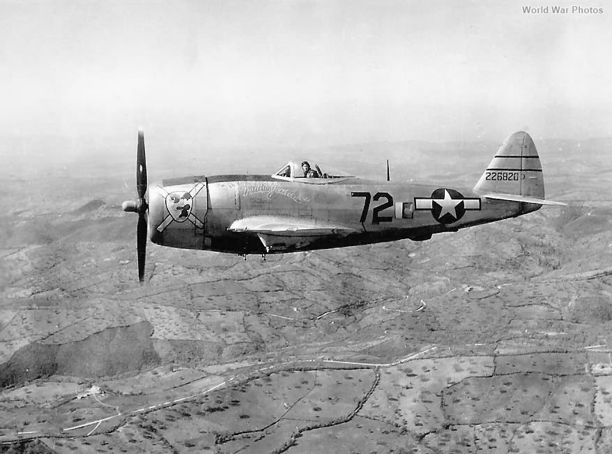 P-47 42-26820 Trudie Jeanne 57th FG 2