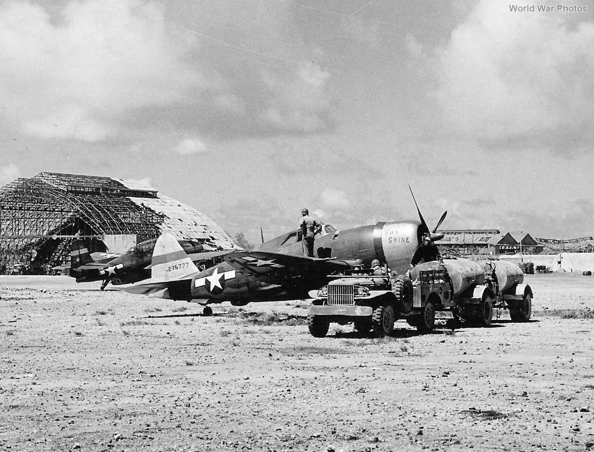 P-47 42-75777 318th FG