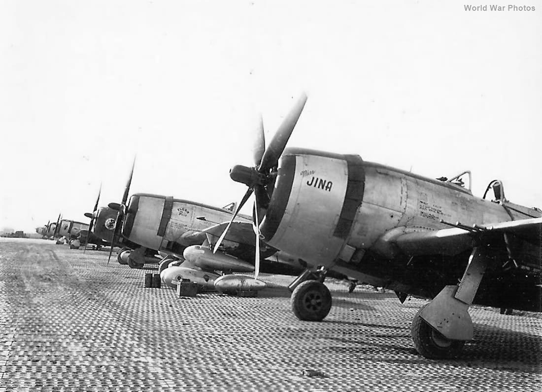 P-47 Miss Jina Flora Belle 318th FG