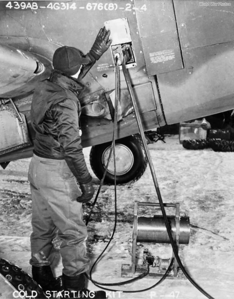 P-47 cold starting kit