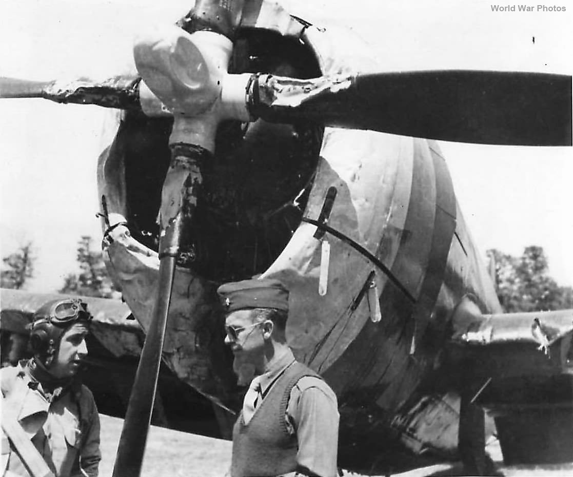 Ray Stecker Commanding Officer 365th FG by P-47
