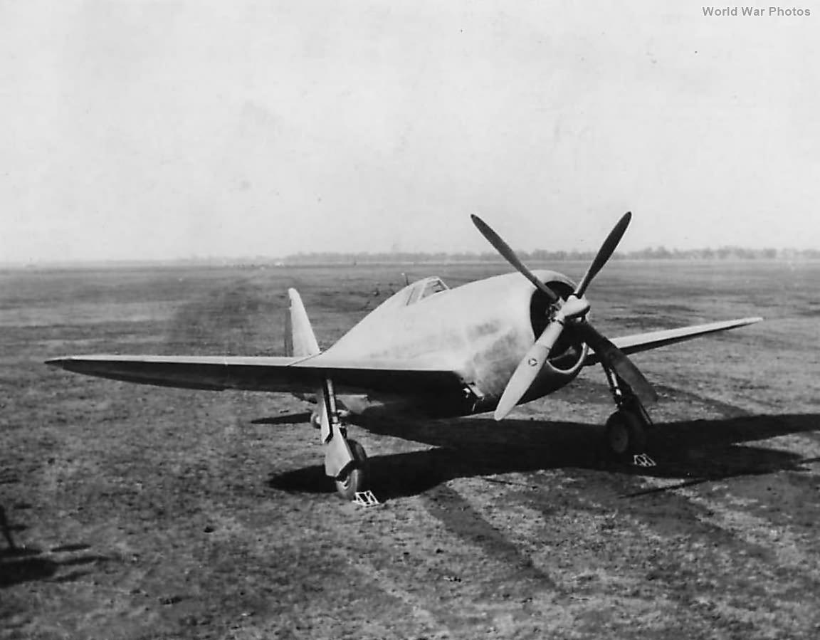 XP-47B prototype 40-3051 at Farmingdale