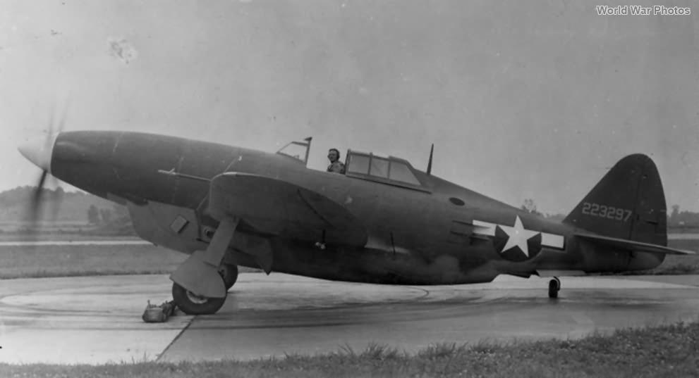XP-47H 42-23297